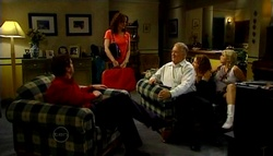 David Bishop, Liljana Bishop, Harold Bishop, Serena Bishop, Sky Mangel in Neighbours Episode 4693