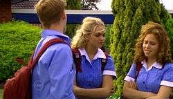 Boyd Hoyland, Sky Mangel, Serena Bishop in Neighbours Episode 4693