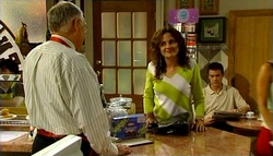 Harold Bishop, Liljana Bishop, Paul Robinson in Neighbours Episode 4693