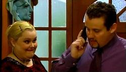 "Genevieve ""Eva"" Doyle, Toadie Rebecchi in Neighbours Episode 4694"