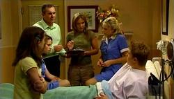 Summer Hoyland, Serena Bishop, Karl Kennedy, Steph Scully, Sky Mangel, Boyd Hoyland in Neighbours Episode 4694
