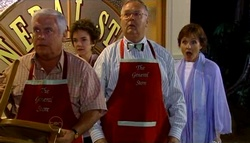 Lou Carpenter, Lyn Scully, Harold Bishop, Susan Kennedy in Neighbours Episode 4695