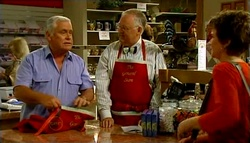Lou Carpenter, Harold Bishop, Lyn Scully in Neighbours Episode 4695