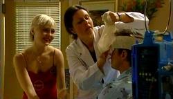 Sindi Watts, Dr. Fuller, Stuart Parker in Neighbours Episode 4695