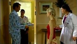 Stuart Parker, Nurse Evanovich, Sindi Watts, Dr. Fuller in Neighbours Episode 4696