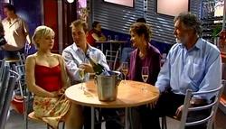 Sindi Watts, Stuart Parker, Susan Kennedy, Gary Evans in Neighbours Episode 4696