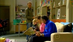 Max Hoyland, Oscar Scully, Susan Kennedy, Karl Kennedy in Neighbours Episode 5033