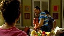 Susan Kennedy, Rachel Kinski, Karl Kennedy, Zeke Kinski in Neighbours Episode 5034