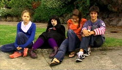 Anne Baxter, Bree Timmins, Rachel Kinski, Zeke Kinski in Neighbours Episode 5034