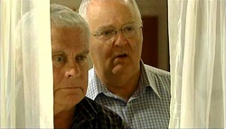 Lou Carpenter, Harold Bishop in Neighbours Episode 5034