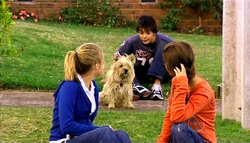 Anne Baxter, Audrey, Zeke Kinski, Rachel Kinski in Neighbours Episode 5035