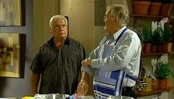 Lou Carpenter, Harold Bishop in Neighbours Episode 5035
