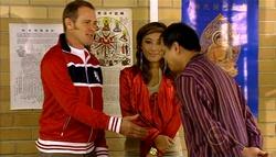 Max Hoyland, Katya Kinski, Howard Lane in Neighbours Episode 5035