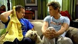 Toadie Rebecchi, Bob, Ned Parker in Neighbours Episode 5037