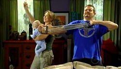 Charlie Hoyland, Steph Scully, Toadie Rebecchi in Neighbours Episode 5037
