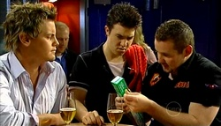 Ned Parker, Stingray Timmins, Toadie Rebecchi in Neighbours Episode 5038