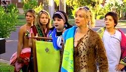 Rachel Kinski, Anne Baxter, Bree Timmins, Janelle Timmins, Zeke Kinski in Neighbours Episode 5039