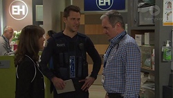 Fay Brennan, Mark Brennan, Karl Kennedy in Neighbours Episode 7726