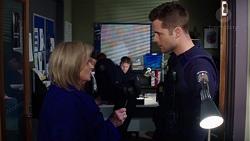 Sheila Canning, Mark Brennan in Neighbours Episode 7726