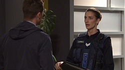 Mark Brennan, Senior Constable Fagan in Neighbours Episode 7727