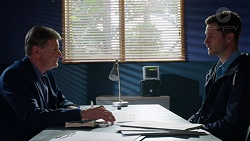 Det. Bill Graves, Mark Brennan in Neighbours Episode 7728