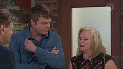 Det. Bill Graves, Gary Canning, Sheila Canning in Neighbours Episode 7728