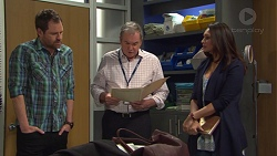 Shane Rebecchi, Karl Kennedy, Dipi Rebecchi in Neighbours Episode 7729