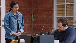 Yashvi Rebecchi, Shane Rebecchi in Neighbours Episode 7729
