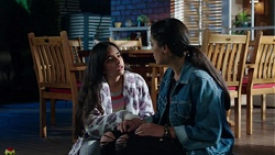 Kirsha Rebecchi, Yashvi Rebecchi in Neighbours Episode 7729