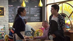 Yashvi Rebecchi, Ben Kirk in Neighbours Episode 7730