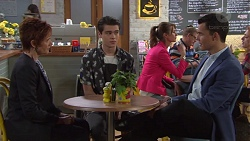 Susan Kennedy, Ben Kirk, Jack Callaghan in Neighbours Episode 7730