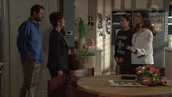 Shane Rebecchi, Susan Kennedy, Yashvi Rebecchi, Dipi Rebecchi in Neighbours Episode 7730