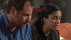 Shane Rebecchi, Yashvi Rebecchi in Neighbours Episode 7730