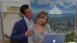 Jack Callaghan, Steph Scully in Neighbours Episode 7731