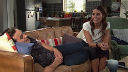 Aaron Brennan, Elly Conway in Neighbours Episode 7731