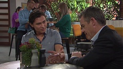Leo Tanaka, Paul Robinson in Neighbours Episode 7731