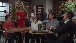 Jimmy Williams, Courtney Grixti, Amy Williams, Leo Tanaka, Paul Robinson in Neighbours Episode 7731