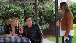 Steph Scully, Jack Callaghan, Amy Williams in Neighbours Episode 7731