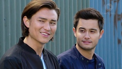 Leo Tanaka, David Tanaka in Neighbours Episode 7732