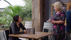Mishti Sharma, Sheila Canning in Neighbours Episode 7732