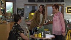 Ben Kirk, Elly Conway, Susan Kennedy in Neighbours Episode 7733