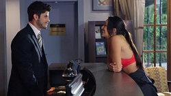 Brandon Danker, Mishti Sharma in Neighbours Episode 7733