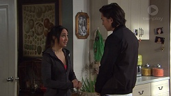 Mishti Sharma, Leo Tanaka in Neighbours Episode 7733