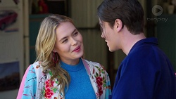 Xanthe Canning, Ben Kirk in Neighbours Episode 7733