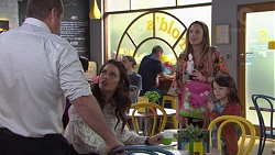 Toadie Rebecchi, Elly Conway, Sonya Mitchell, Nell Rebecchi in Neighbours Episode 7735