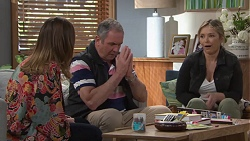 Sonya Mitchell, Karl Kennedy, Steph Scully in Neighbours Episode 7735