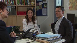 Susan Kennedy, Elly Conway, Jack Callaghan in Neighbours Episode 7735