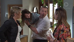 Steph Scully, Nell Rebecchi, Toadie Rebecchi, Sonya Mitchell in Neighbours Episode 7735