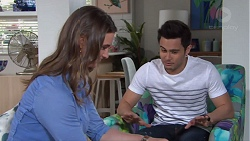 Amy Williams, David Tanaka in Neighbours Episode 7735