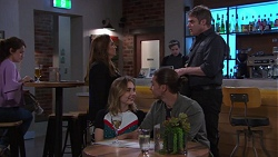 Terese Willis, Gary Canning, Piper Willis, Tyler Brennan in Neighbours Episode 7736